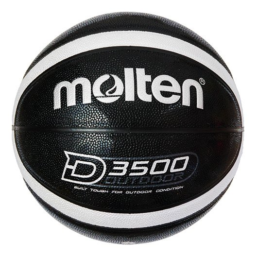 B7D3500-KS Piłka do koszykówki Molten OUTDOOR czarna